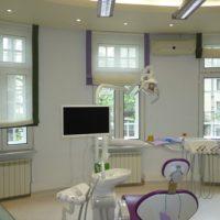 Cabinet stomatologic - storuri perdea cu borduri