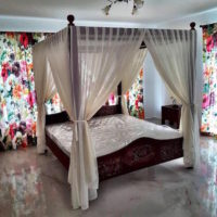 Baldachin dormitor