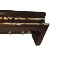 170-cornisa-ludovic-wenge-argintiu